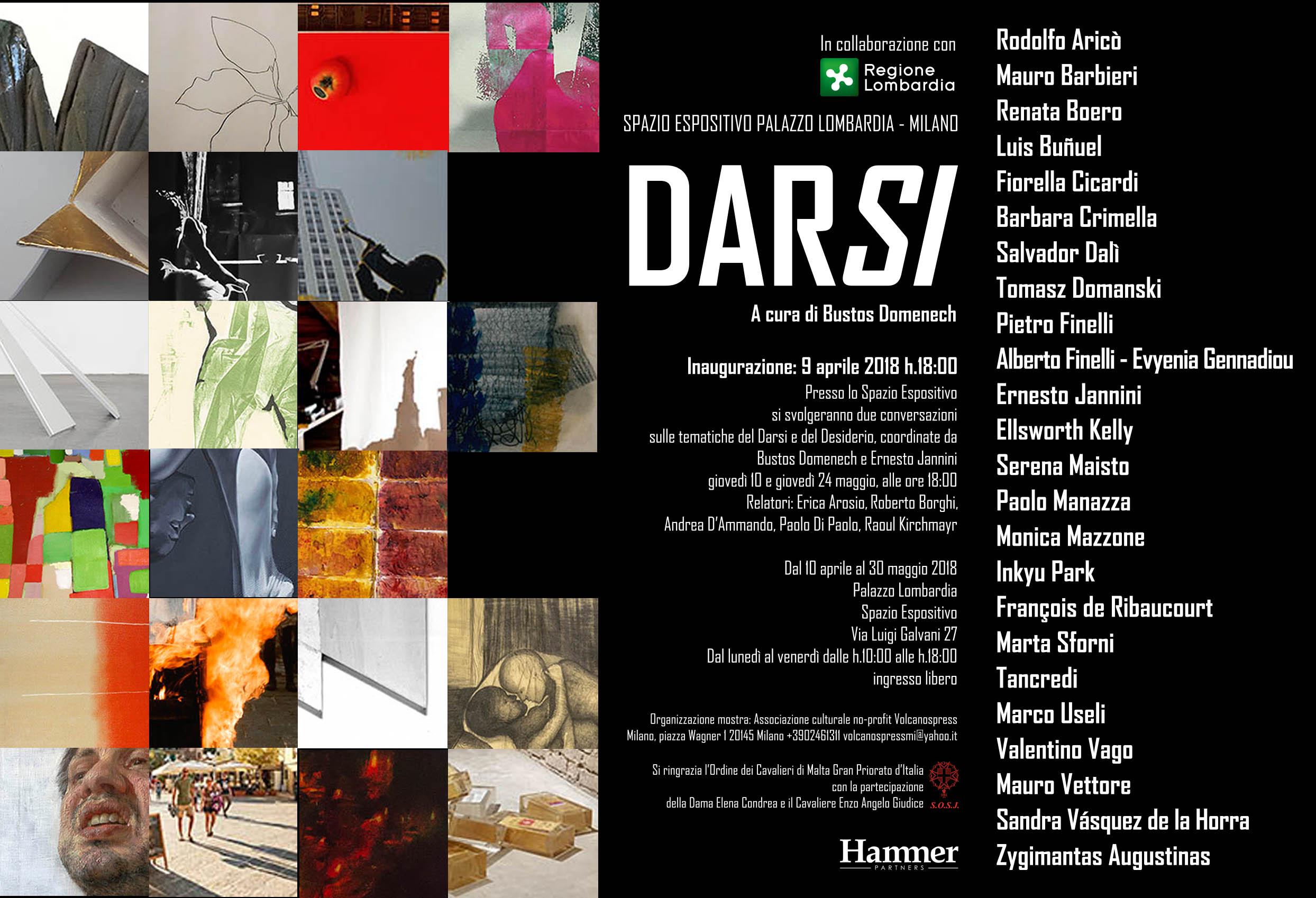 Mostra Design Milano 2018 darsi - mostra internazionale d'arte contemporanea | sandra