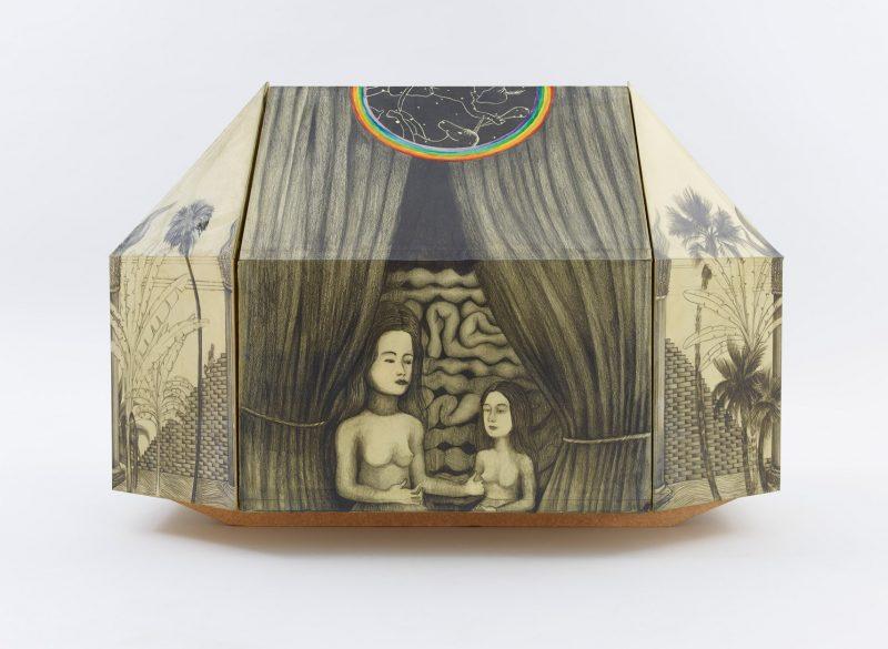 Sculpture, Graphite on paper, wax, El sueño de Salomón, 2014, Kewenig Galerie, Berlín