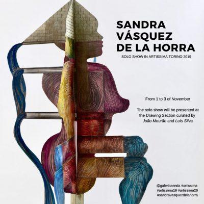 Flyer Sandra Vásquez de la Horra
